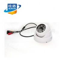 广西监控摄像头批发 30米点阵安防半球监控摄像机 QHT-G6050H代理