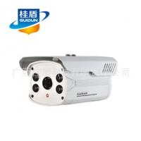 安防监控摄像头 80米点阵红外防水防雷监控摄像机 QHT-C9266H批发