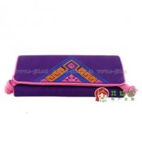 批发广西风格首饰卷 民族风大首饰包(姹紫) 30*15cm