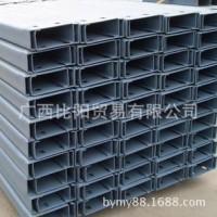 广西南宁虎丘钢材市场供应镀锌C型钢,20#-40#冷弯镀锌C型钢
