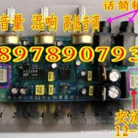 PT2399唱歌用带混响卡拉OK板 可改直流供电