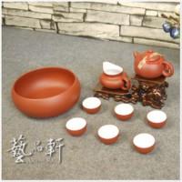 【艺品轩】正品 宜兴紫砂茶具套装 功夫茶具整套茶具 紫砂茶壶