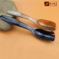 177 桂林戴氏工艺品厂家直销牦牛角茶勺 茶具茶道