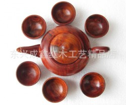 红木工艺品 木制礼品 红木茶具 老挝