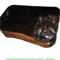 厂家直销精品紫檀木茶盘茶海
