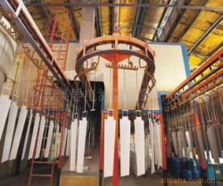 供应物流器材涂装流水线和涂装设备