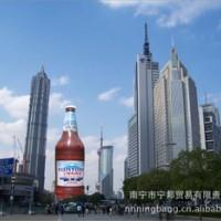 专业加工 充气广告啤酒瓶 广告气模 大型气模加工定制