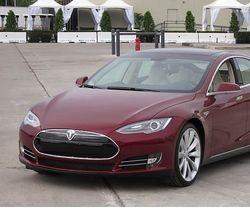 特斯拉电动汽车。美国特斯拉