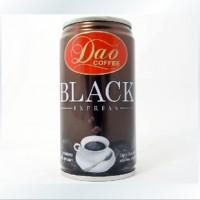 原装进口 正品Dao即饮特浓黑咖啡饮料 罐装180ml 热销