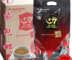 包邮批发进口越南G7咖啡g7速溶三合