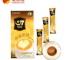 越南特产 中原G7榛子味卡布奇诺咖啡