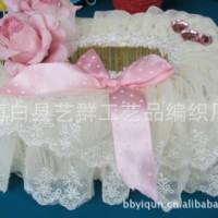 纸巾盒/纸巾抽/抽纸盒/纸巾套 粉色浪漫 田园蕾丝布艺 高档多花色