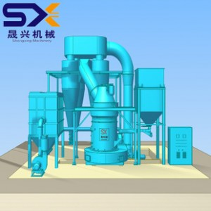 桂林重型机械厂 磨粉机 SXR1750 粉煤灰雷蒙磨 大型雷磨机
