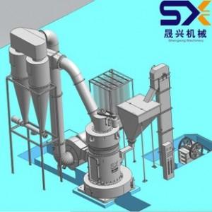 磨粉机械 滑石磨粉机 小型磨粉机 磨粉机生产厂家 R型磨粉机