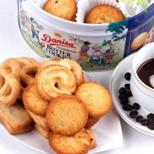 进口食品 丹麦皇冠牛油曲奇饼干908