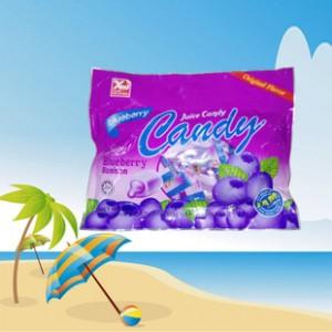代发 进口野生蓝莓酱心糖 果干排毒