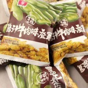 甘源酱汁牛肉味蚕豆五谷粗粮  咸香