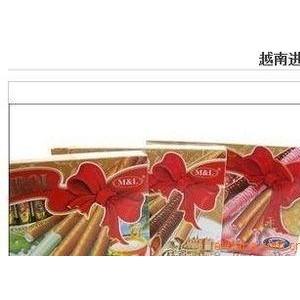 越南黄金蛋卷400克20盒整箱混批。卖
