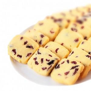 酷爱手工饼干 蔓越莓曲奇饼干 香酥松脆 休闲零食 170g装食品