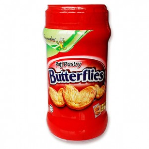森姆家Samudra 蝴蝶酥 150g/罐 马来