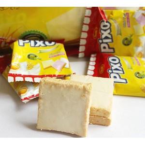 进口休闲食品 休闲食品 零食 越南pixo面包干 牛奶鸡蛋饼 饼干