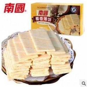 (南国品牌)海南特产食品 椰香薄饼