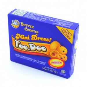 TOODOO糖豆小子奶油曲奇饼干90g 马
