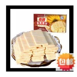 海南特产 南国食品 香蕉薄饼80g 办