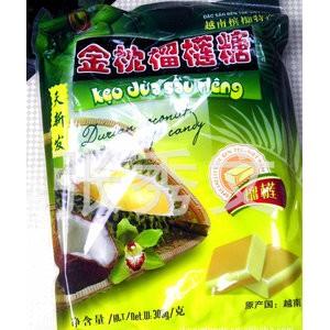 越南天新发金枕榴莲糖300克-槟椥特