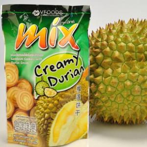 供应泰国VFOODS mix榴莲味夹心饼干7