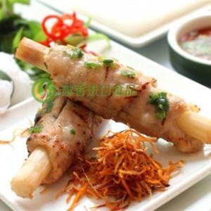 越南甘蔗虾成品虾卷甘蔗卷越南美食CHAO TOM CAU TRE500G