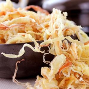 当享美食 158g北海墨鱼丝 美食 零食