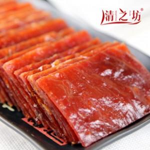 当享新品 零食靖江肉脯批发 猪肉脯双鱼风味小正片200g