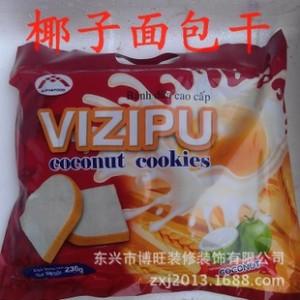 椰子饼干 椰香面包干230g 鸡蛋饼viz