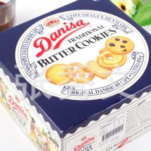 丹麦皇冠牛油曲奇DANISA(蓝罐)饼
