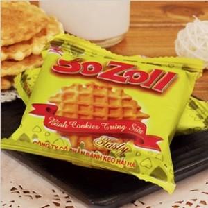 进口食品 越南特产 SOZOLL鸡蛋饼干 减肥饱腹佳品小吃好美味270g