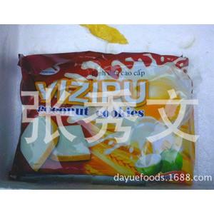 越南特产  高级椰子饼干椰香面包干
