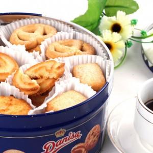 进口食品 丹麦皇冠牛油曲奇饼干454