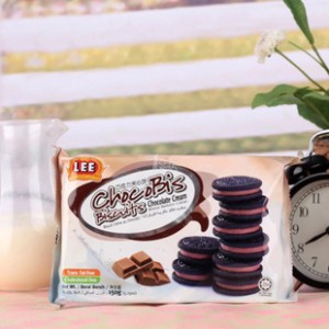 热卖马来西亚进口 LEE南益巧克力夹