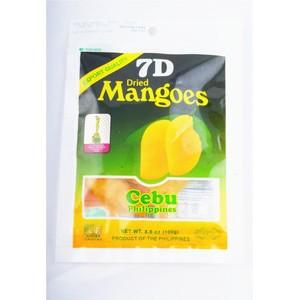 休闲食品菲律宾特产 进口7d芒果干 小吃 水果干微商零食一件代发