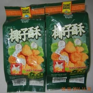 越南特产中越泰兴龙椰子酥150g 进口食品批发