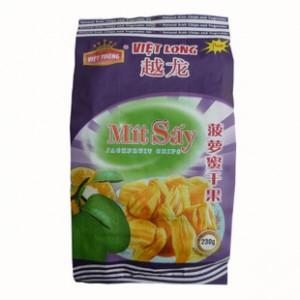 越南越龙菠萝蜜干 果干一袋230g 一件20袋 越南特产 原装进口