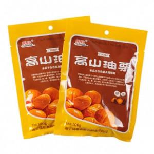 广西特产 民歌高山油栗 100g 小包装 精选优质剥皮板栗 绿色食品
