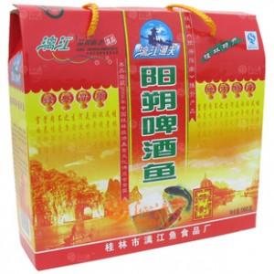 【特产食品】漓江渔夫560G礼盒装阳朔啤酒鱼 懒得背就网购回去