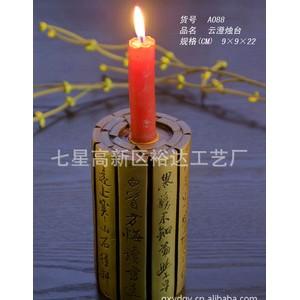餐厅装饰照明树脂烛台  古典创意婚庆道具摆件 云澄烛台BJ088