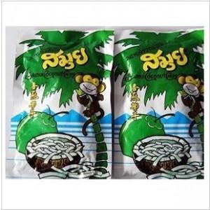 包邮泰国特产热销排行苏梅椰子片40