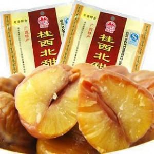 批发 广西特产 拉友食品 桂西北甜栗100g*100袋/箱 休闲零食小吃