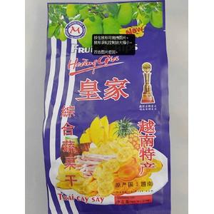 批发零售越南进口食品休闲食品零食肉脯特产皇家综合蔬果干250g