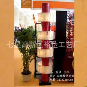 现代中式大型创意灯饰  展厅装饰落地灯  酒店大堂照明灯DS061
