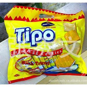 越南特产 热销产品TIPO白巧克力面包干(鸡蛋饼)300克装/袋